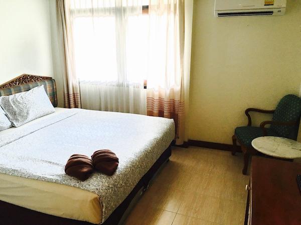 アユタヤ ホテルの客室1