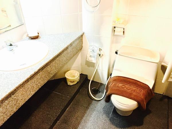 アユタヤ ホテルのシャワールーム1