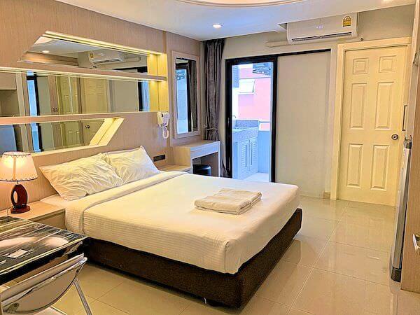 B ユア ホーム ホテル ドンムアン エアポート バンコク(B-your home Hotel Donmueang Airport Bangkok)の客室1