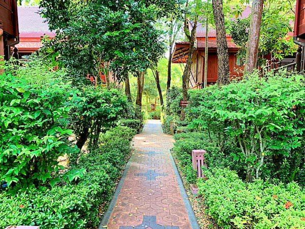 バーン アムパワ リゾート アンド スパ(Baan Amphawa Resort and Spa)の敷地内5
