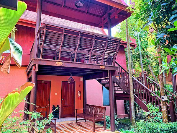 バーン アムパワ リゾート アンド スパ(Baan Amphawa Resort and Spa)の客室棟2