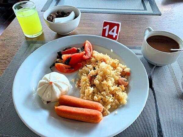 バーン アムパワ リゾート アンド スパ(Baan Amphawa Resort and Spa)の朝食2