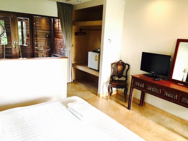 バーン ティエ ワン ホテルの客室1