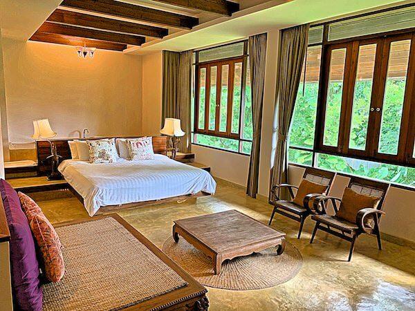 バーン ティエ ワン ホテル(Baan Tye Wang Hotel)の客室1