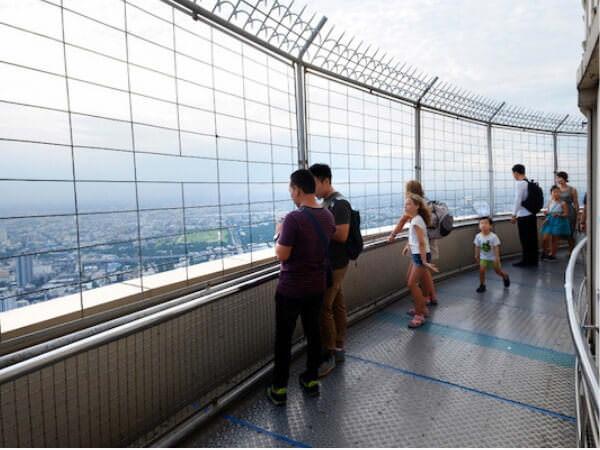 バイヨーク スカイ ホテル (Baiyoke Sky Hotel)の展望台