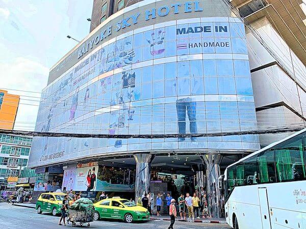 バイヨークスカイホテル(Baiyoke Sky Hotel)への入り口