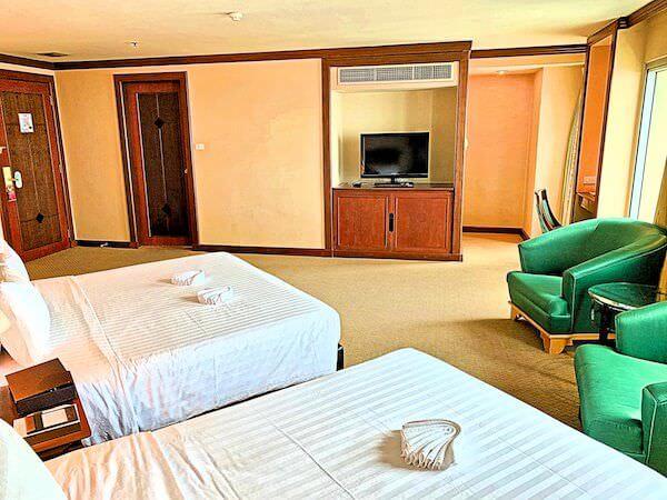 バイヨークスカイホテル(Baiyoke Sky Hotel)の客室2