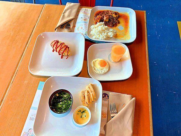 バイヨークスカイホテル(Baiyoke Sky Hotel)で食べた朝食