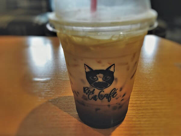 RED CATのコーヒー