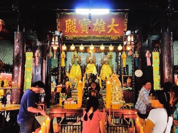 龍福寺の内部2