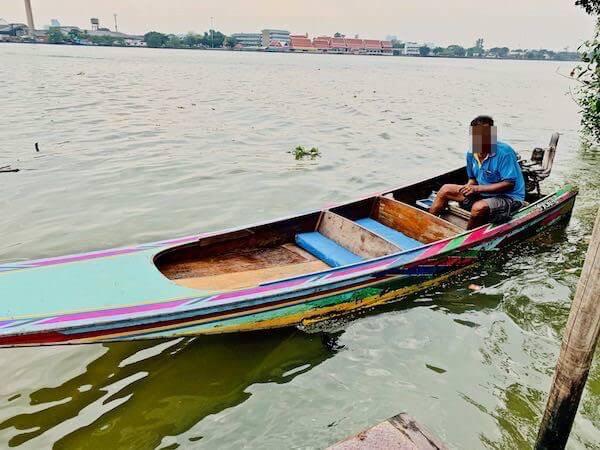 蛍ボートツアーの船