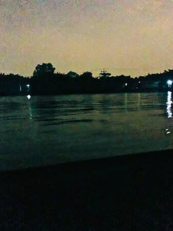 蛍ボートツアーの風景