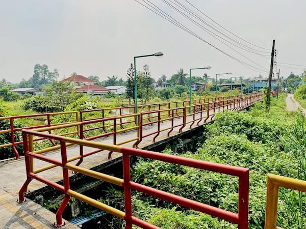 バーンガジャオの景観