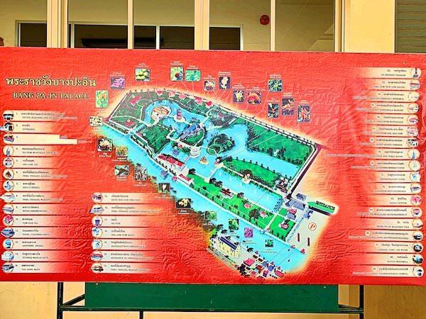 バンパイン宮殿の地図