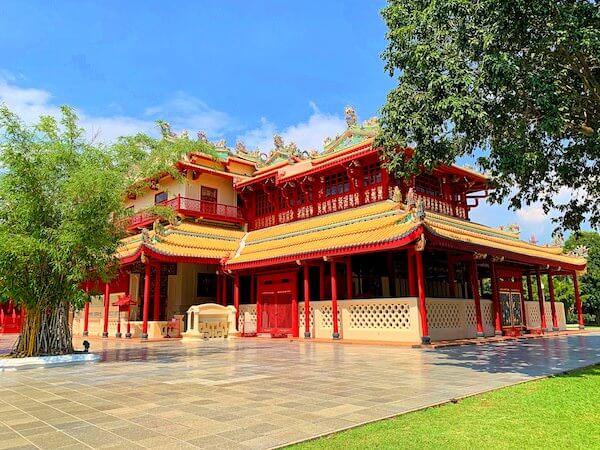 バンパイン宮殿にあるプラティナン・ウェハート・チャムルーン