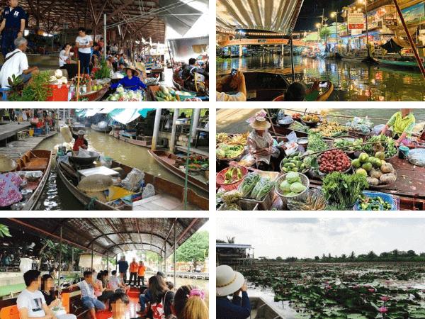 バンコクから行ける6ヶ所の水上マーケット
