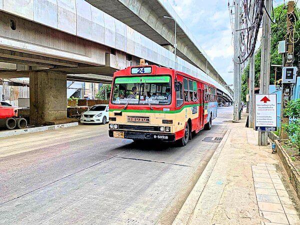 バンコク路線バス系統番号24番