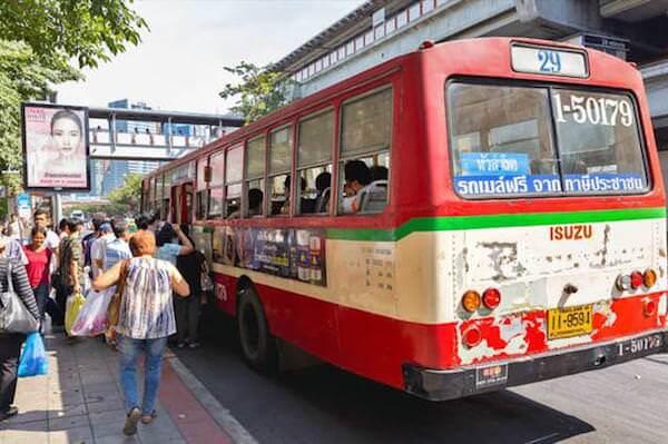 バンコクの路線バス29番