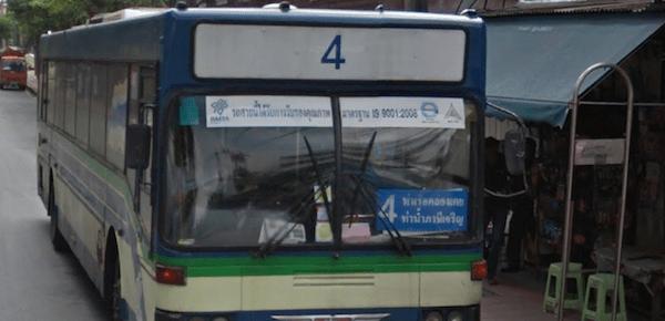 バンコクの4番バス