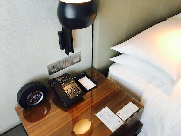 バンコク マリオット スリウォンのベッド2