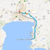バンコクからパタヤの行き方地図 アイキャッチ画像
