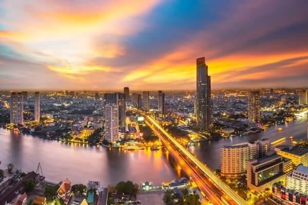 バンコクのリバーサイド アイキャッチ画像