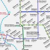 バンコク路線図のアイキャッチ画像