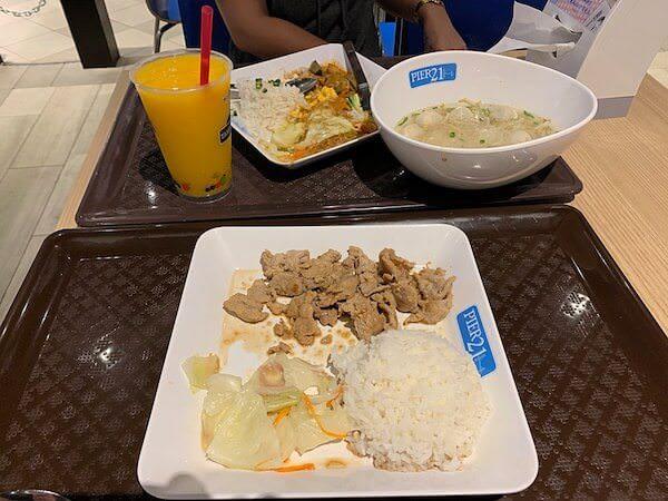 ターミナル21のPier21で食べた韓国風生姜焼き