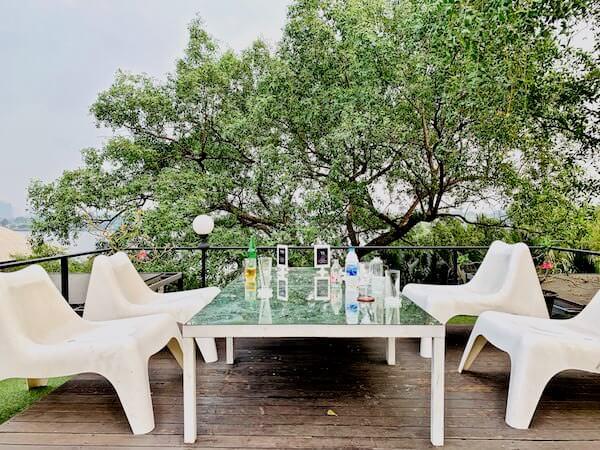 バンコク ツリー ハウス(Bangkok Tree House)のテラス席