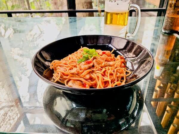 バンコク ツリー ハウス(Bangkok Tree House)で食べたスパゲティ