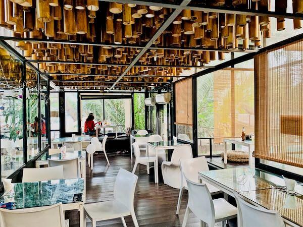 バンコクツリーハウスのカフェテラス