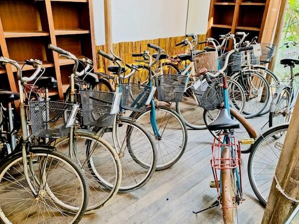 バンコクツリーハウスの無料レンタル自転車