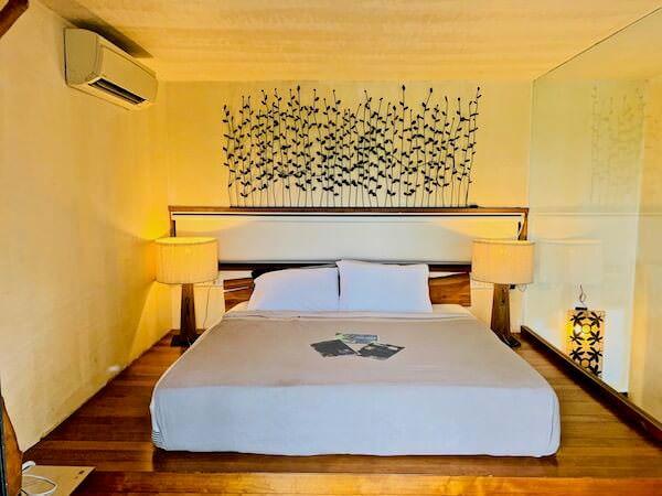 バンコク ツリー ハウス(Bangkok Tree House)2階のベッドルーム