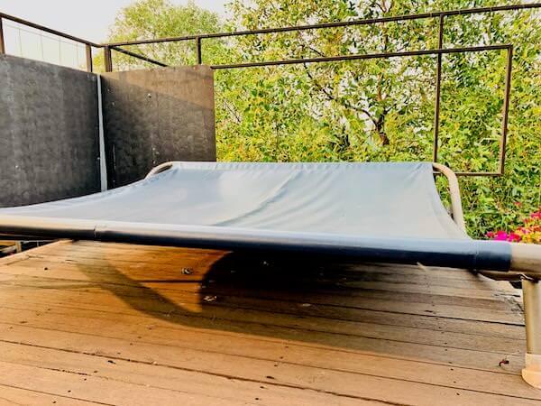 バンコク ツリー ハウス(Bangkok Tree House)屋上テラスのベッド