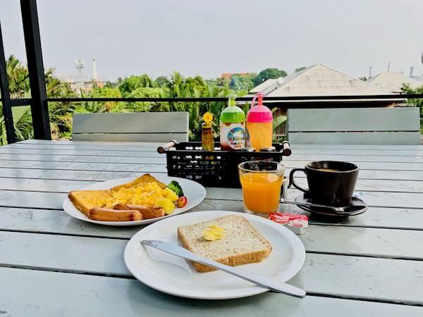 バンコク ツリー ハウス(Bangkok Tree House)の朝食