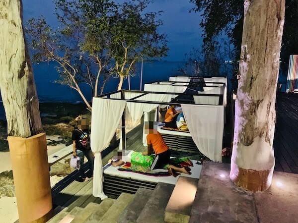 バー アンド ベッド リゾート(Bar and Bed Resort)のマッサージ