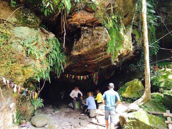 ルーンプロチウ洞窟の入り口