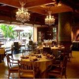 バンコクの宮廷料理「ベンジャロン」の店内