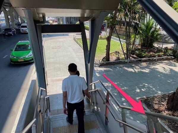 BTSカセサート大学の階段