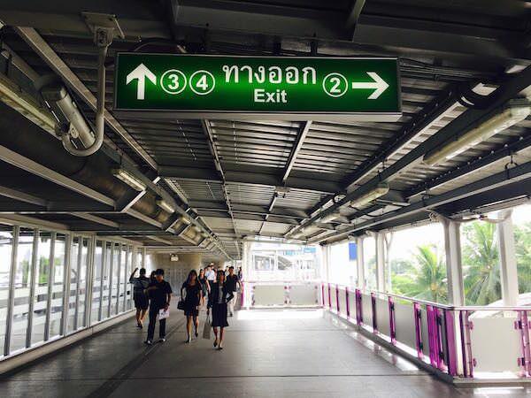 BTSタラートプルーの2番出口
