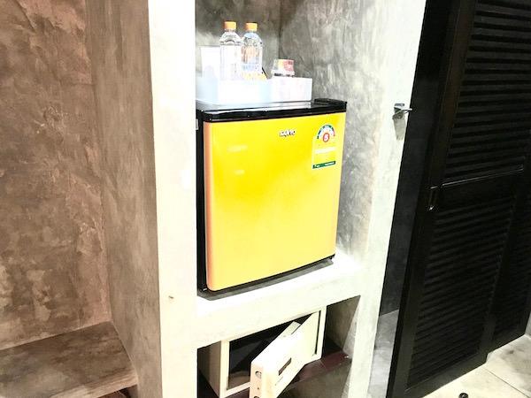 バディー ブティック インの冷蔵庫