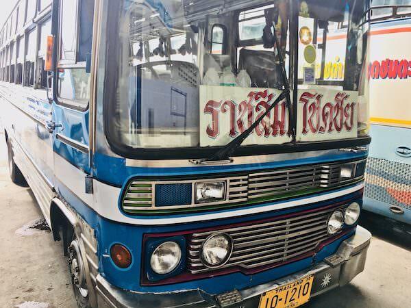 チョークチャイ行きバス