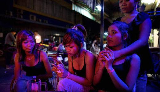 カンボジア人の女性達