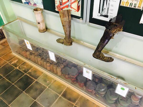 地雷博物館2