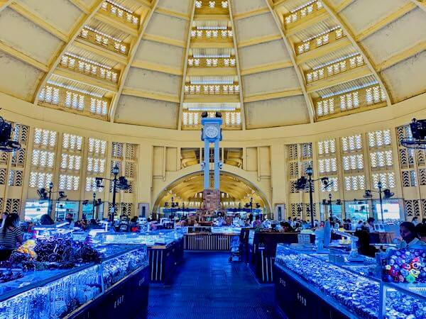 セントラルマーケットの内部