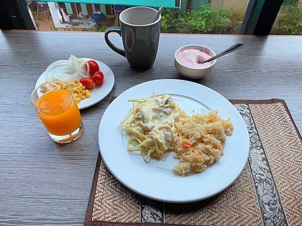 チャレラン ホテル(Chalelarn Hotel)の朝食