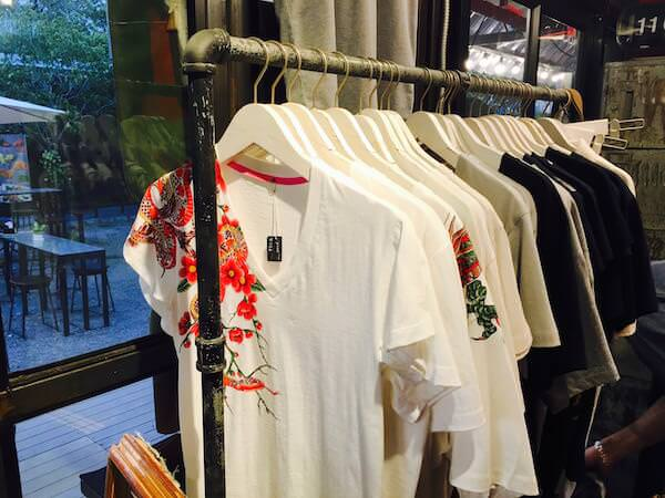 Zinnia bkkで売られていたTシャツ