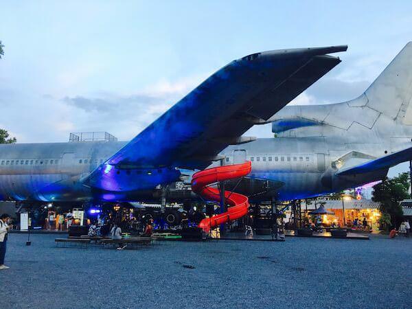 チャンチュイ・クリエイティブスペースにある飛行機