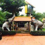 チャンタイ タップラヤー サファリの入り口