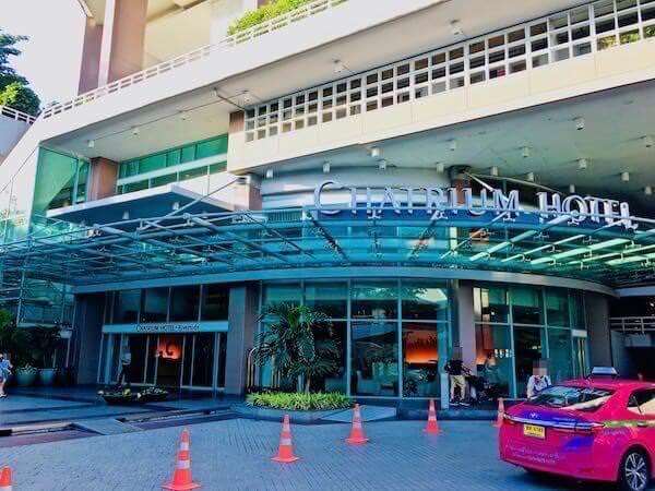 チャトリウム ホテル リバーサイド バンコク (Chatrium Hotel Riverside Bangkok)の入り口